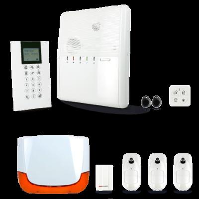 Description  Le système d'alarme S1000 peut être connecté à une  box internet (RJ45). La centrale sera alors capable d'envoyer  un mail et une notication (smartphone / tablette /  ordinateur...) lors